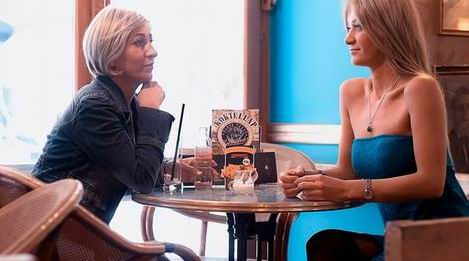 Kávéház nők